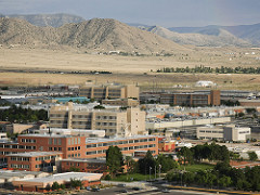 Image of Arial View of Sandia National Labs buildings