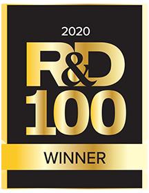 R and D 100 winner badge