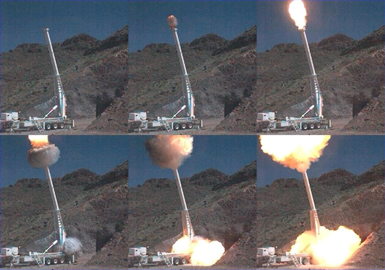 Launch sequence.