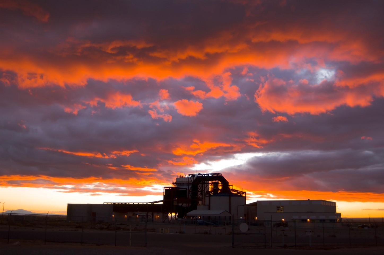 TTC at sunset