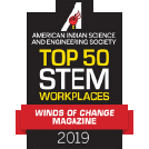 Top 50 STEM workplaces 2019