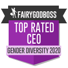 Fairy God Boss - Top rated CEO Gender diversity 2020