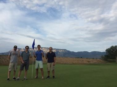 Image of Golfing