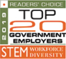 Top 20 Government employers - STEM
