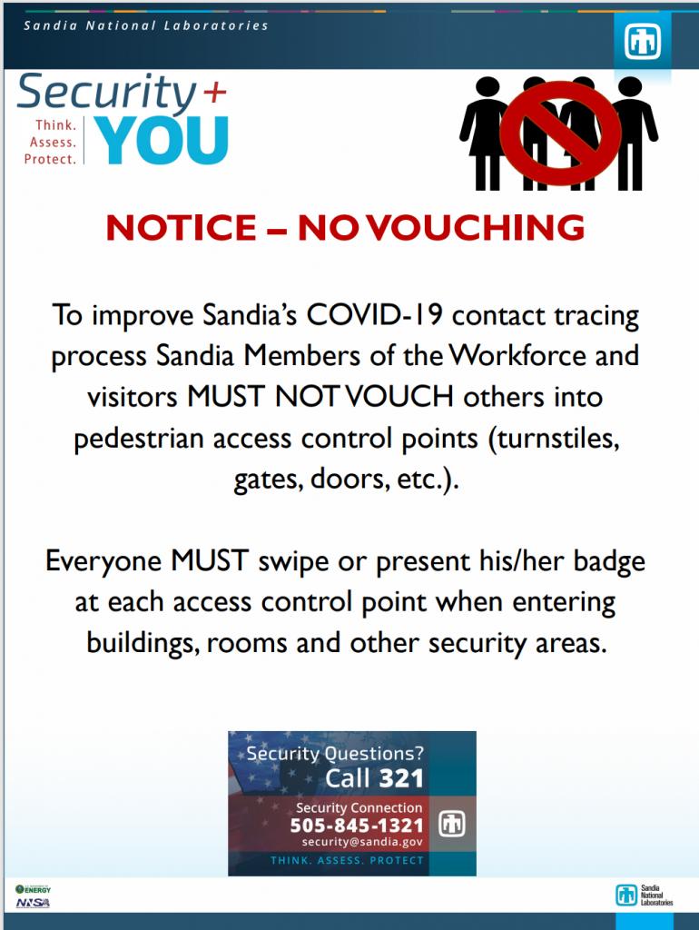 Notice - No Bouching Image