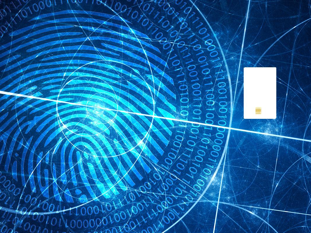 Fingerprint and ID badge