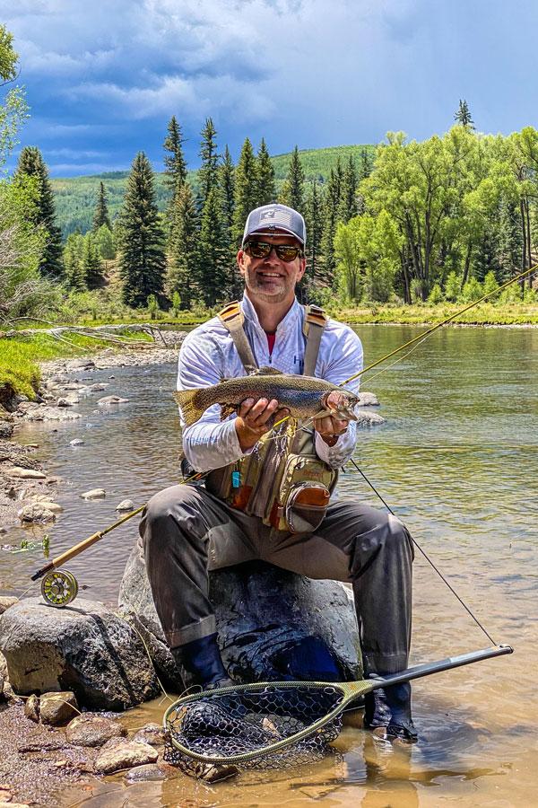 Scott Aeilts on a fishing trip