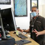 Dr. Dan Azar in his office