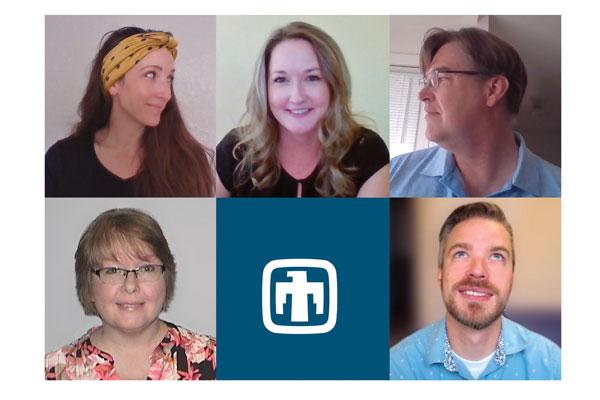 California Lab News staff members