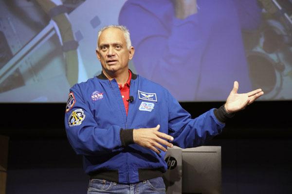 "NASA astronaut John ""Danny"" Olivas"