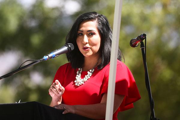 KRQE News 13 morning anchor Crystal Gutierrez