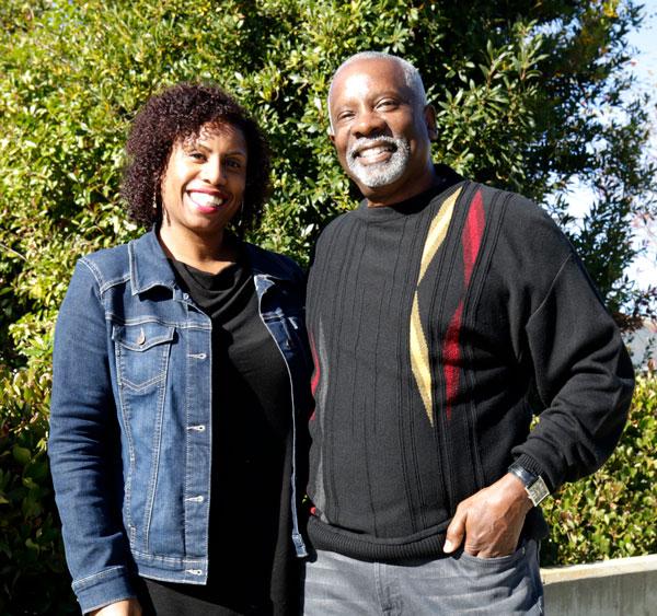 Krystal Kelley and dad, Marvin Kelley