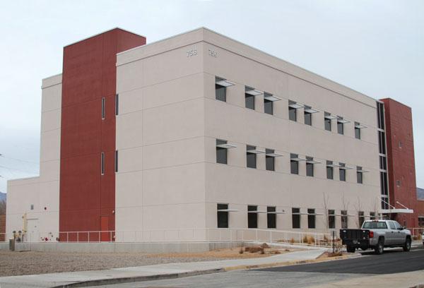 new building on Sandia New Mexico campus
