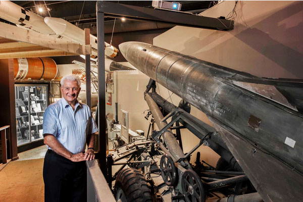 Chuck Loeber at National Museum of Nuclear Science and History