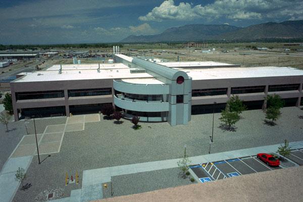 MESA facility aerial view circa 1989