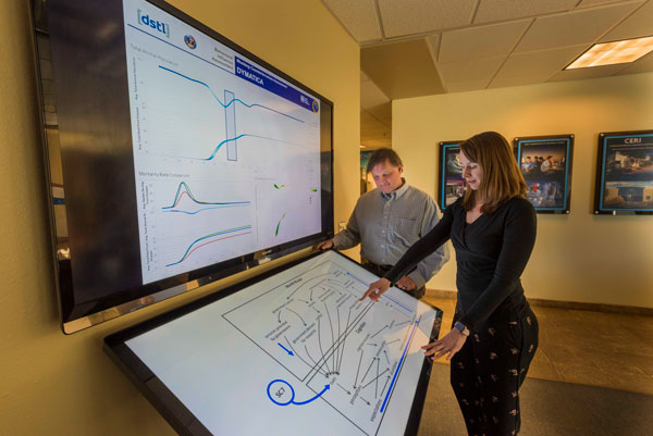 Sandia researchers review modeling data