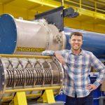 Matt Gomez at Z pulsed power facility