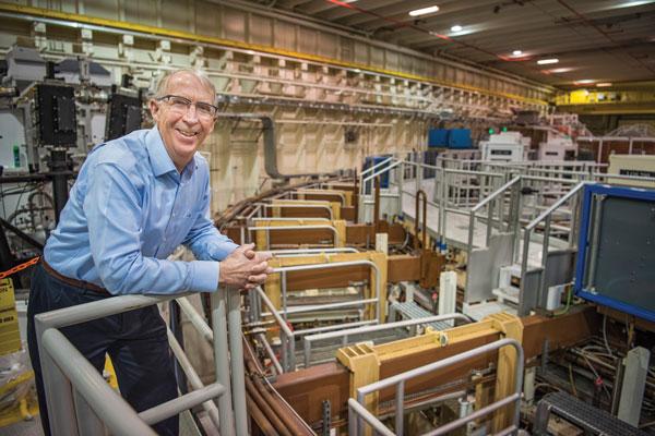 Keith Matzen at the Z facility