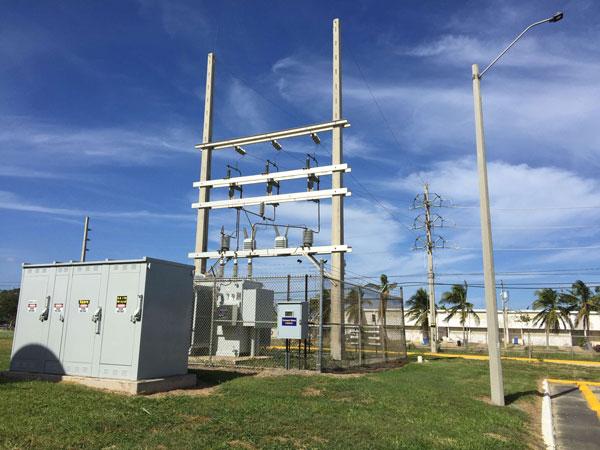 microgrid substation