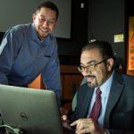 Charles Reinke and Ihab El Kady