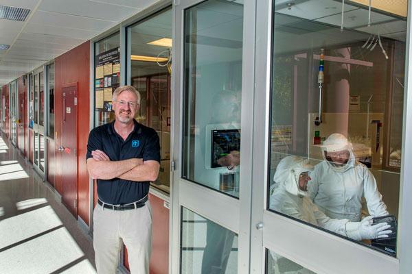 Associate Labs Director Mike Burns