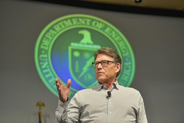 Secretary Perry all-hands talk