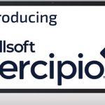 computer screen with Skillsoft Percipio logo