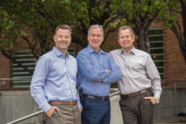 Scott Aeilts, John Myers and Mark Sellers