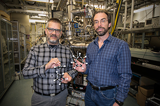 Team that discovered a new mechanism leading to soot formation