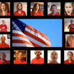 Sandia singers perform national anthem virtually
