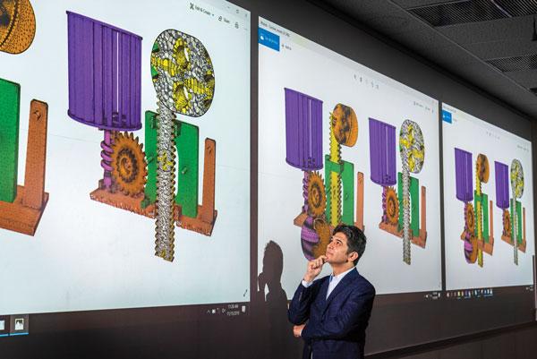 Mohamed Ebeida looks at geometric models