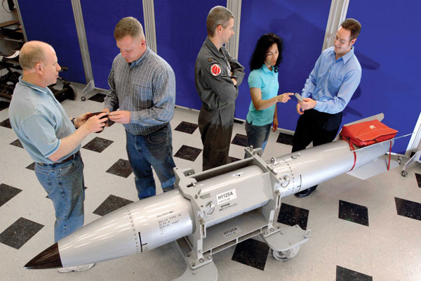 WIP class members look at weapon model
