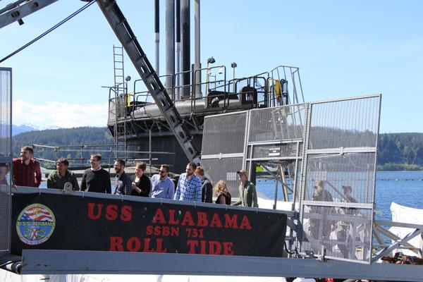 WIP class onboard USS Alabama