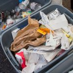 waste collected at the Labs