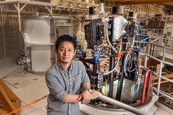 Physicist Taisuke Nagayama