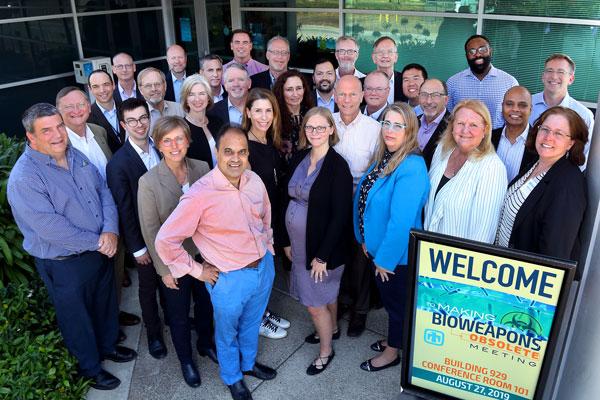 biothreat workshop attendees