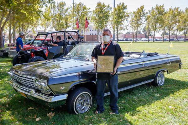 1962 Chevy Impala at car show