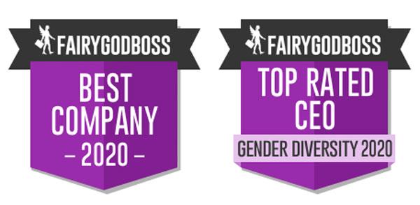fairygodboss award logos