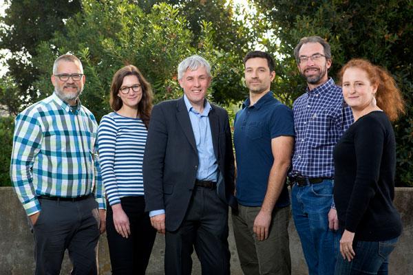 Hydrocarbon researchers group photo