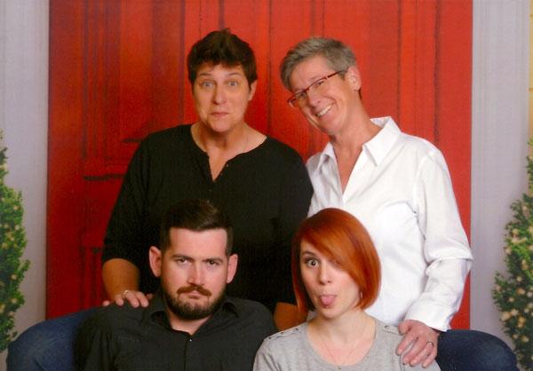 Chris LaFleur's family portrait