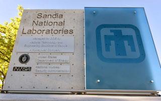 Sandia National Laboratories sign