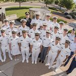 Military students get a taste of national lab research, a win-win for them and Sandi