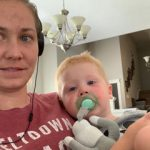 Lindsey Gloe Hughes and her son