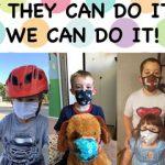 poster of kids wearing masks