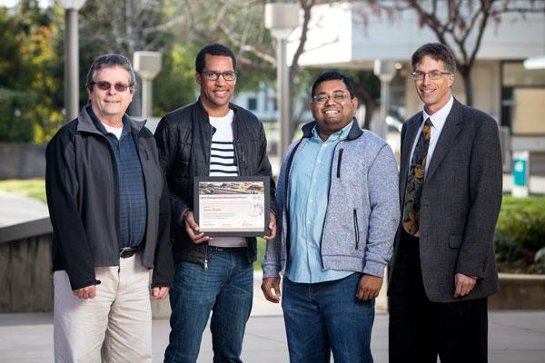 Isaac Ekoto receives his mentor award