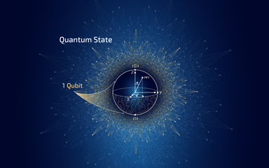 quantum state illustration