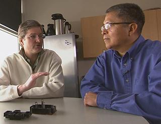 Stan Aticitty and John Hostetler