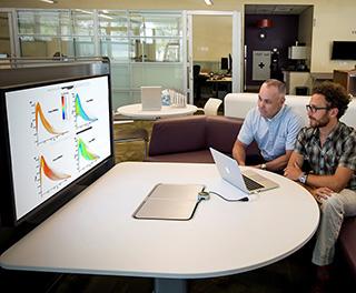 Sandia researchers Joe Oefelein and Guilhem Lacaze discuss their work