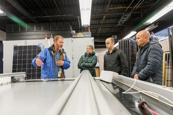 solar scientists discuss photovoltaics