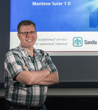 A new benchmark to more accurately measure the capabilities of modern supercomputers has been crafted by Sandia researcher Mike Heroux (1426), in collaboration with the creator of the widely used LINPACK benchmark, Jack Dongarra and his colleagues at the University of Tennessee and Oak Ridge National Laboratory.